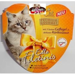 CAT 85g Premium Gourmet - Drób w dyniowym sosie