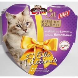 CAT 85g Premium Gourmet - Cielęcina z jagnięciną w sosie