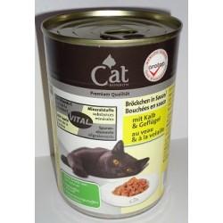 CAT PREMIUM 400g- Cielęcina z drobiem w sosie