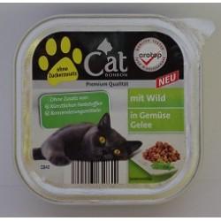 CAT PREMIUM 100g- Dziczyzna z warzywami w galarecie