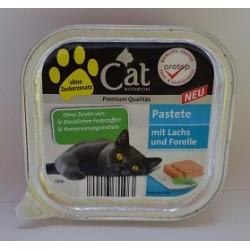 CAT PREMIUM 100g- Łosoś z pstrągiem pasztet
