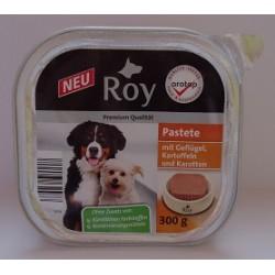 ROY - Karma Premium 300g - Drób z marchewką i ziemniakami pasztet
