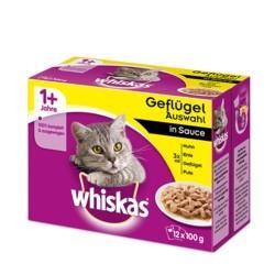 Whiskas 12 x 100 g Adult- Drób w sosie