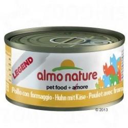 Almo Nature puszka 70g- Kurczak ser