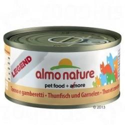 Almo Nature puszka 70g- Tuńczyk krewetki