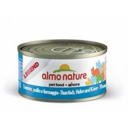 Almo Nature puszka 70g- Tuńczyk kurczak ser