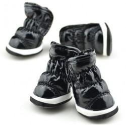 Buty dla Psa 4 szt. XS - Czarne