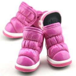 Buty dla Psa 4 szt. XS - Różowe