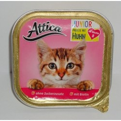 ATTICA Junior szalka 100g pasztet z drobiem
