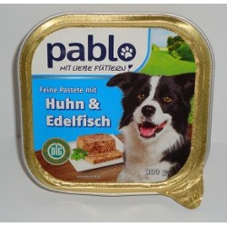 PABLO szalka 300g - Kurczak i szlachetne ryby pasztet