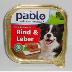 PABLO szalka 300g -Wołowina z wątróbką pasztet