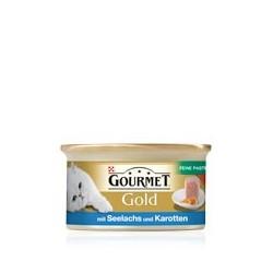 GOURMET GOLD 85g - Łosoś morski z marchewką pasztet