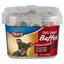 Trixie Baffos mini krążki z wołowiną 140g