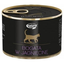 Dolina Noteci NATURAL TASTE CAT z jagnięciną 185 g