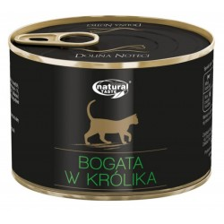 Dolina Noteci NATURAL TASTE CAT królik 185 g