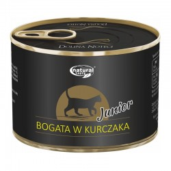 Dolina Noteci Junior NATURAL TASTE CAT kurczak 185 g