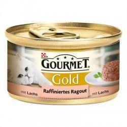 GOURMET GOLD 85g - Kawałki łososia w sosie