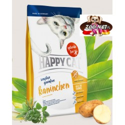 Happy Cat Sensitive- Bezzbożowa- Królik