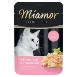 Miamor Feine Filets 100g tuńczyk z krabami w galarecie