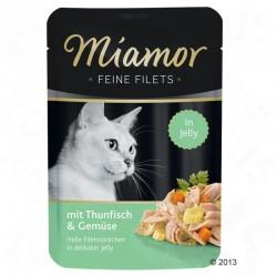 Miamor Feine Filets 100g tuńczyk z warzywami w galarecie