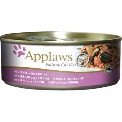 Applaws 156g bulion makrela z sardynką