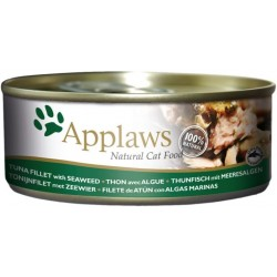 Applaws 156g bulion z tuńczykiem i algami