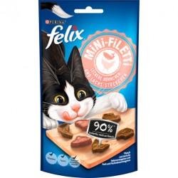 Felix przysmak mini fileciki- Kurczak łosoś 40g
