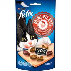 Felix przysmak mini fileciki- Kurczak Wołowina 40g