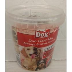 DOG Mix serduszek - miękkie przysmaki dla psa 500g