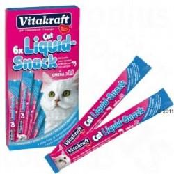 Vitakraft Cat Liquid - przysmak z łososiem + omega 3