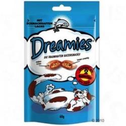 Dreamies z łososiem 60g - snaki dla kota