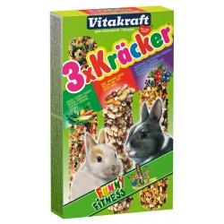 VITAKRAFT Kracker 3x Kolby dla Królika - Mix smaków