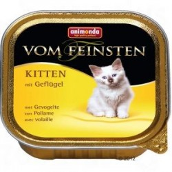 Animonda Vom Feinsten Kitten z drobiem szalka 100g