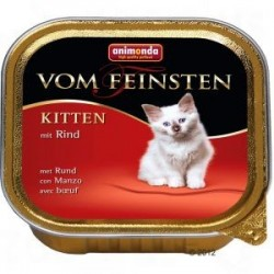 Animonda Vom Feinsten Kitten z wołowiną szalka 100g
