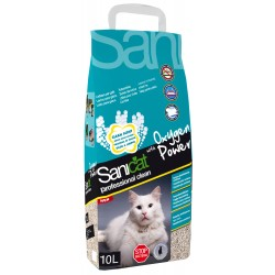 SANICAT Żwirek Professionals Clean Oxygen Power 10L