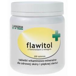 Flawitol dla psów zdrowa skóra i piękna sierść (tabletki) - 200 szt