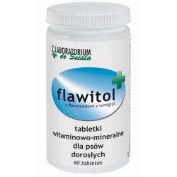 Flawitol dla psów dorosłych (tabletki) - 60 szt