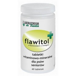 Flawitol dla psów seniorów (tabletki) - 60 szt