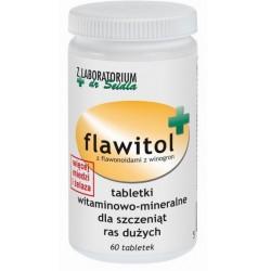 Flawitol dla szczeniąt ras dużych (tabletki) - 60 szt