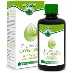 Flawitol Omega 3 z lecytyną 250ml