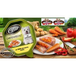 CESAR Gartenvielfalt 150g - Kura z warzywami