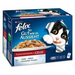 Felix 12x100g So gut smaczne mięso w galarecie