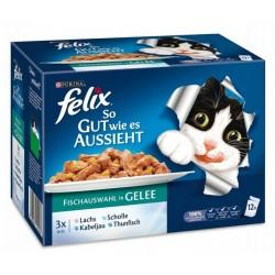 Felix 12x100g So gut smaczne ryby w galarecie