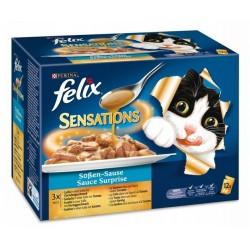 Felix 12x100g Sensations mix rybny w sosie