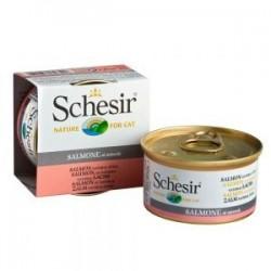 Schesir Natural 85g - z łososiem i ryżem