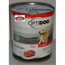 Opti Dog Premium 800g - Wołowina 60 % mięsa !