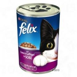 Felix 400g  - kaczka z drobiem w sosie