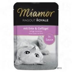 Miamor Ragout Royale 100g kaczka z drobiem w sosie