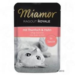 Miamor Ragout Royale 100g tuńczyk z kurczakiem w sosie