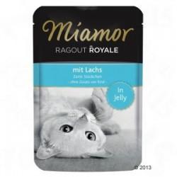 Miamor Ragout Royale 100g łosoś w galarecie